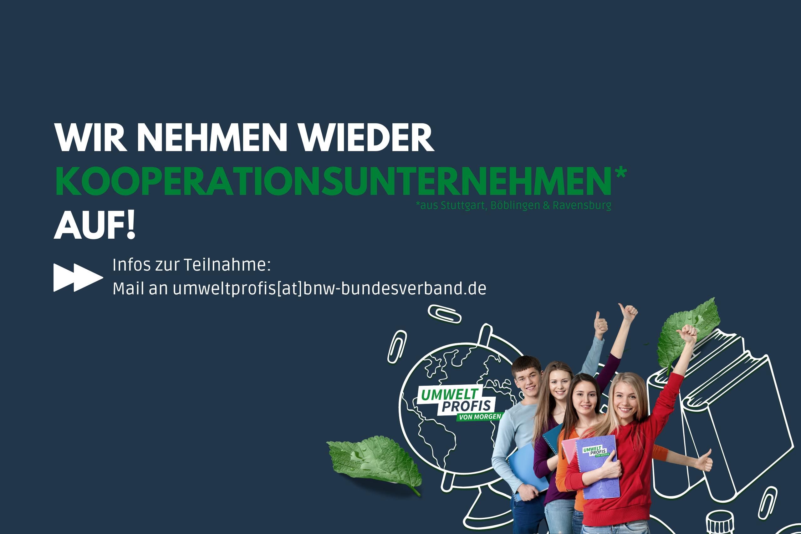 Kooperationsunternehmen für das Projektjahr 2021-22